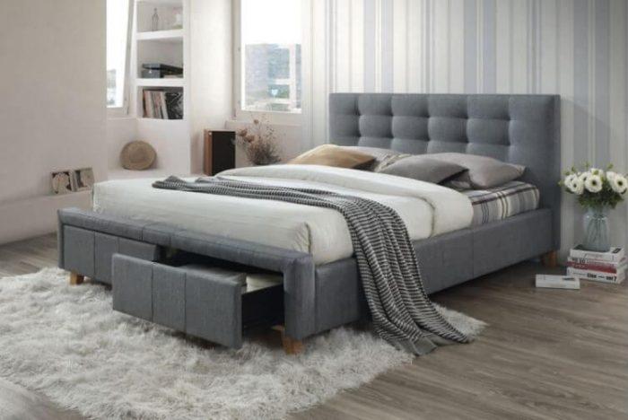 מיטה מעוצבת דגם אסקוט