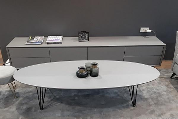 מזנון ושולחן לסלון דגם בטון