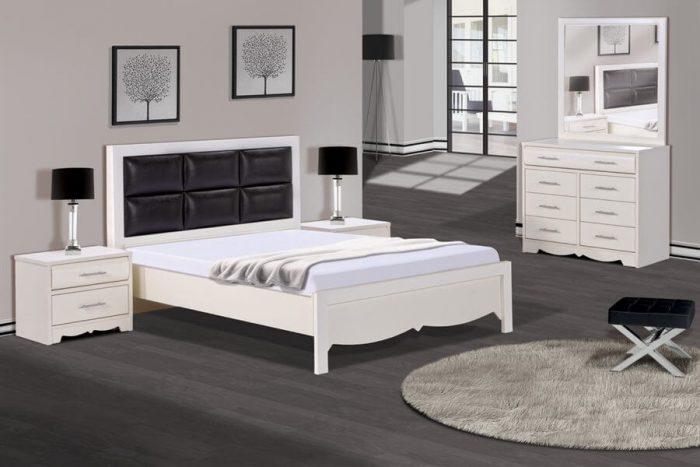 חדר שינה מעוצב טוסקנה