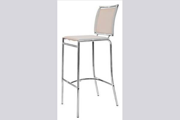 כיסא בר ממתכת דגם ברוש