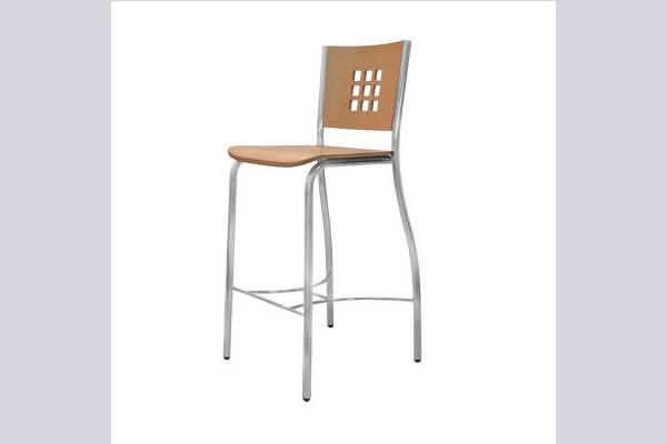 כיסא בר ממתכת דגם ורונה