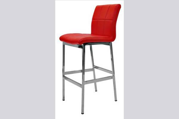 כיסא בר ממתכת דגם חבצלת