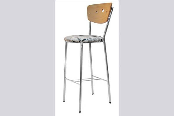 כיסא בר ממתכת דגם מילאנו