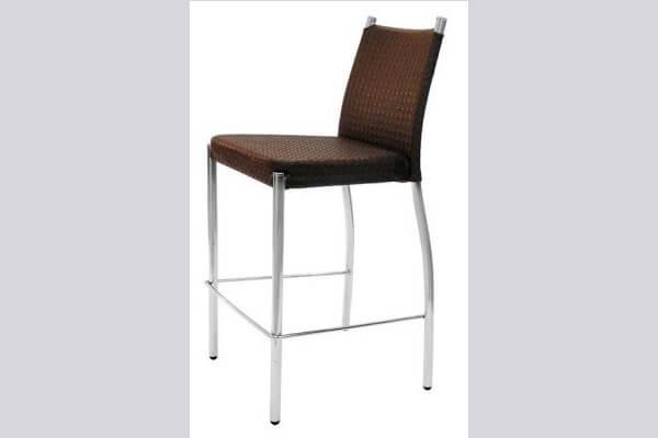 כיסא בר ממתכת דגם נוגה