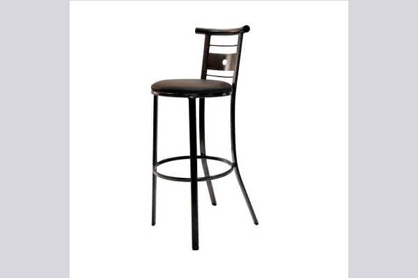 כיסא בר ממתכת דגם סולם