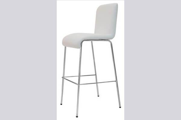 כיסא בר ממתכת דגם פופ
