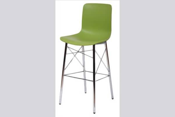 כיסא בר ממתכת דגם רומאו איקס