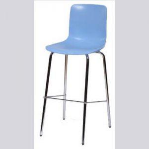 כיסא בר ממתכת דגם רומאו