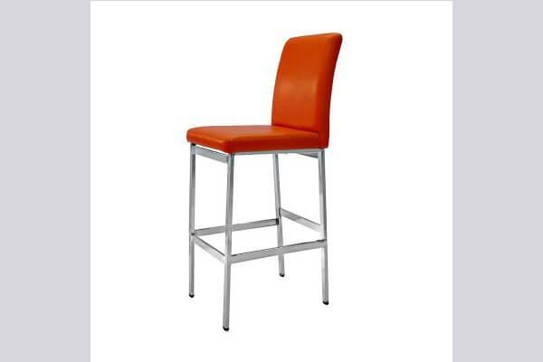 כיסא בר ממתכת דגם שני