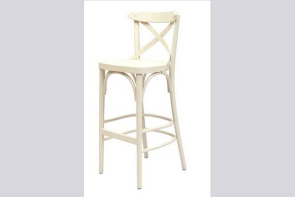 כיסא בר מעץ דגם אקסטרה