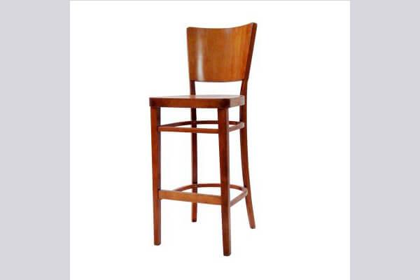 כיסא בר מעץ דגם הדר