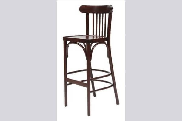 כיסא בר מעץ דגם יבניאל