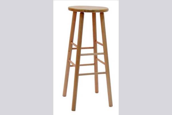 כיסא בר מעץ דגם יופיטר