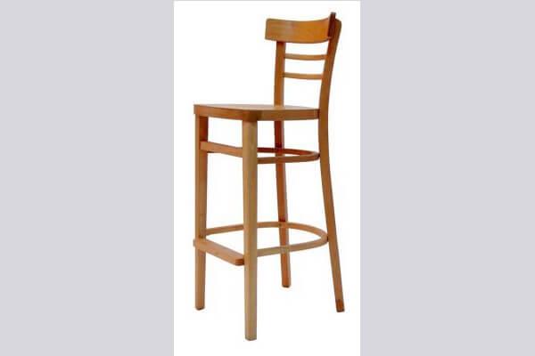 כיסא בר מעץ דגם סבתא