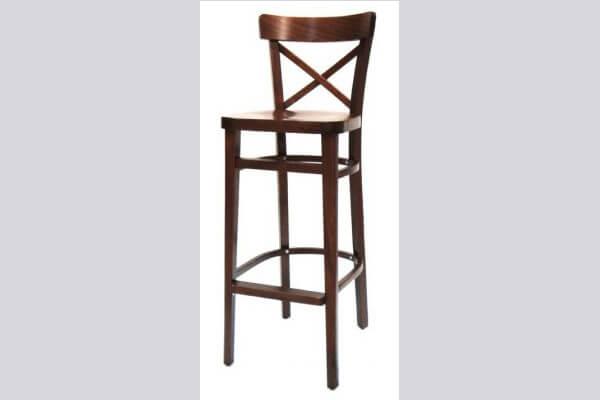 כיסא בר מעץ דגם עוז