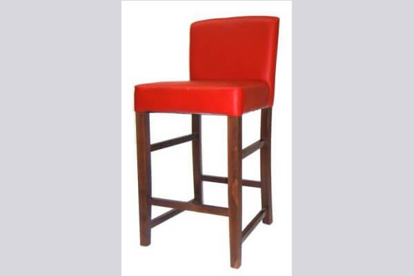 כיסא בר מעץ דגם פלורידה