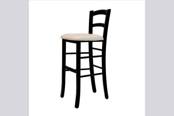 כיסא בר מעץ דגם קאנטרי