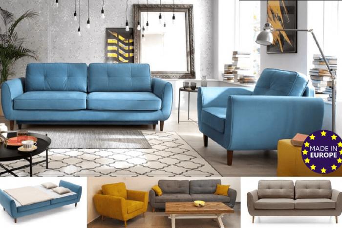 ספה מעוצבת דגם הולנד zil
