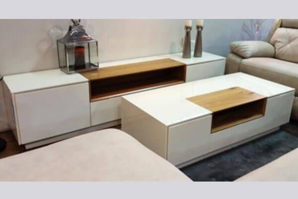 מזנון ושולחן לסלון דגם אריאלה