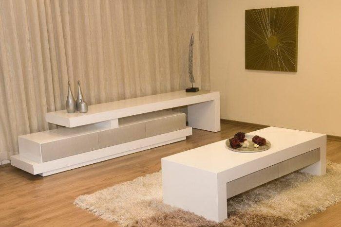 מזנון ושולחן לסלון דגם כנף