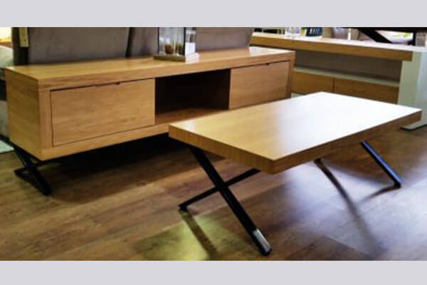 מזנון ושולחן לסלון דגם פדרו