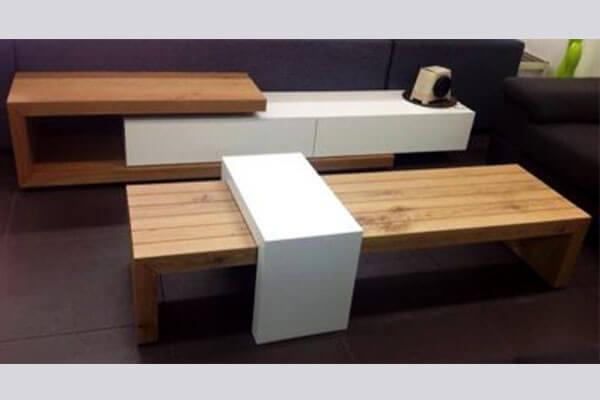 מזנון ושולחן לסלון דגם קורנלי