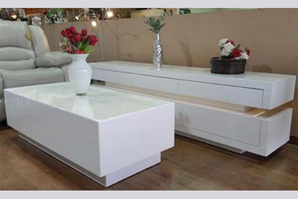 מזנון ושולחן לסלון דגם קינג