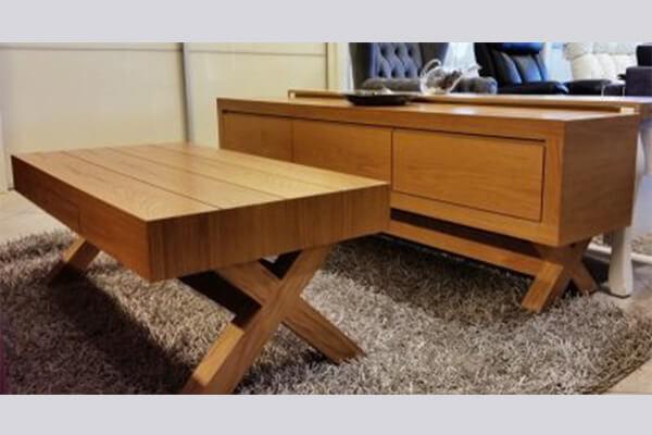 מזנון ושולחן לסלון דגם קמילה