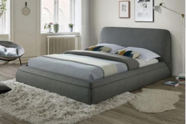 מיטה זוגית מרופדת מרנלו