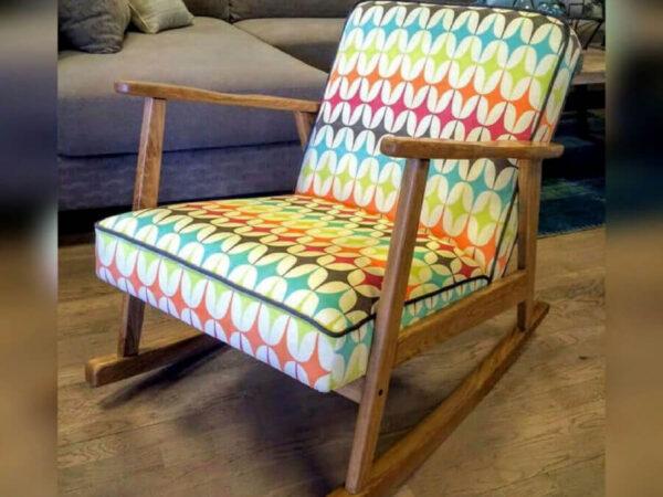 כורסא מעוצבת דגם נדנדה