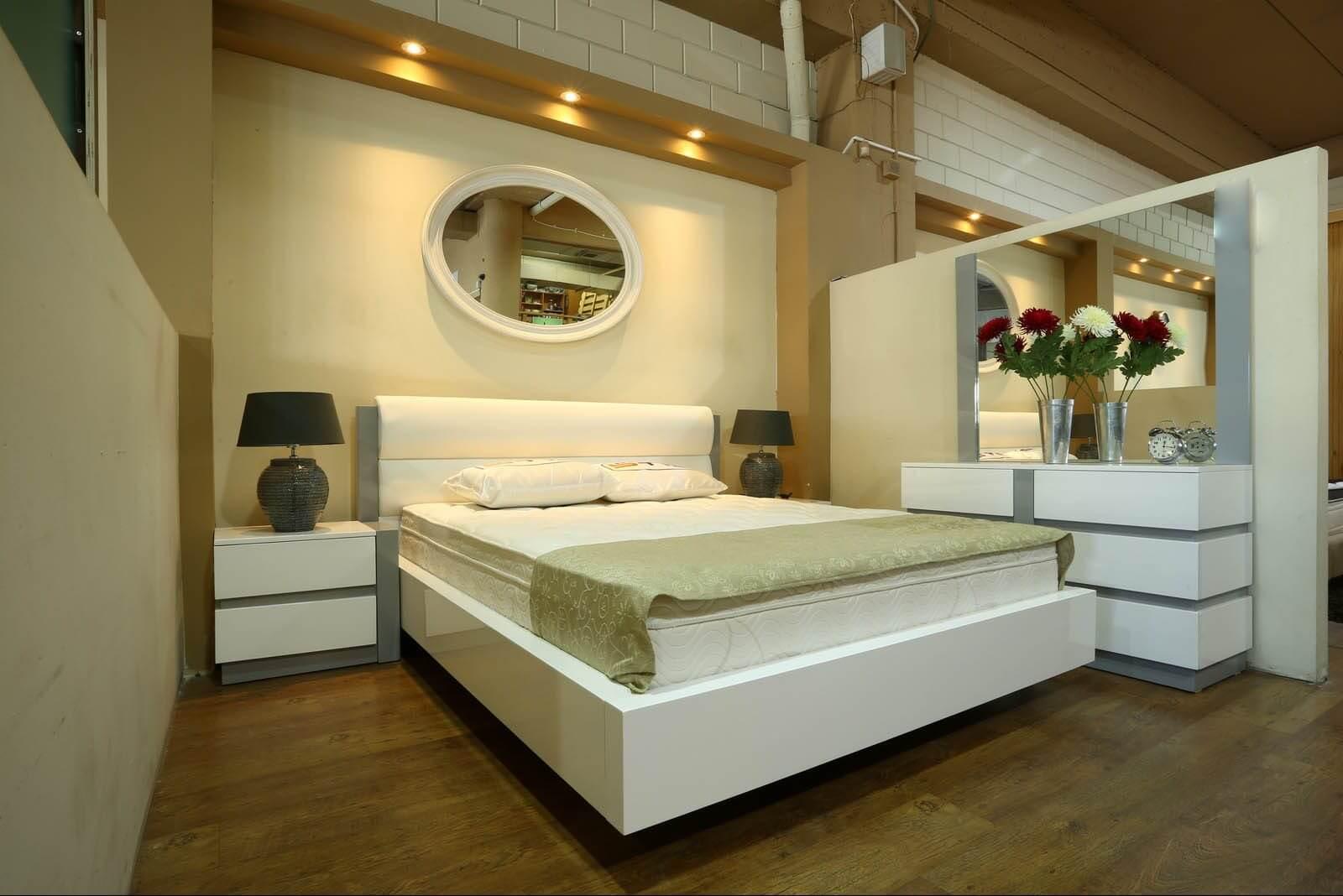 חדר שינה מעוצב דגם סילבר נייט