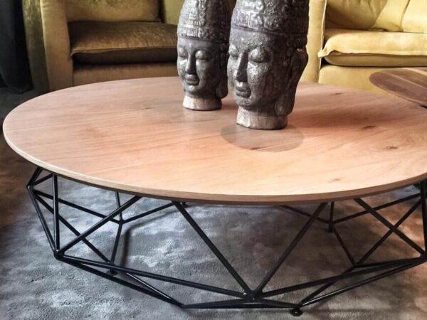 שולחן סלון מעוצב דגם כוורת-SH