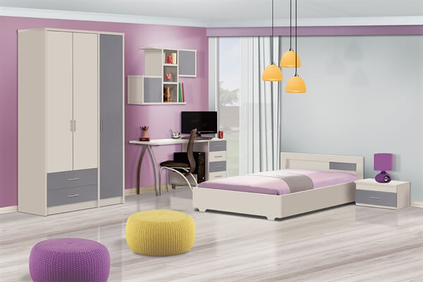 חדר ילדים מעוצב I מיטל