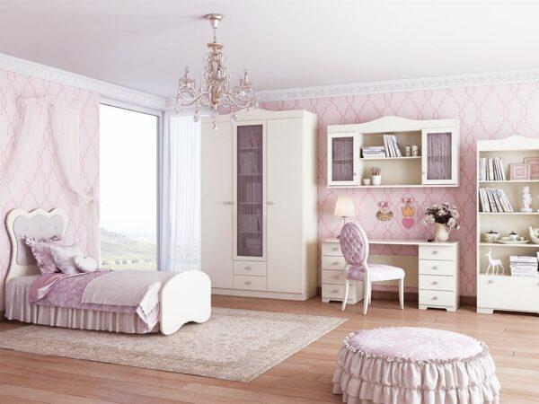 חדר ילדים מעוצב דגם פרינסס VL