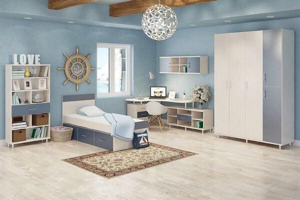 חדר מעוצב ילדים דגם אלמוג VL