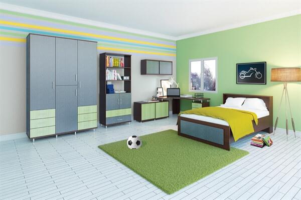 חדר ילדים מעוצב I יפית