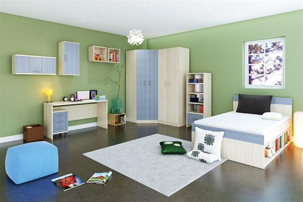 חדר ילדים מעוצב I לב