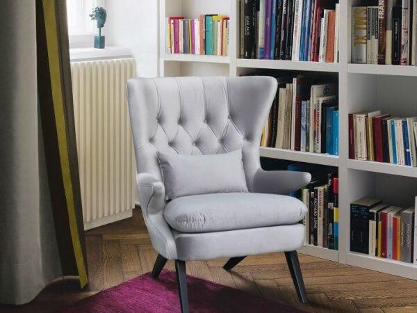 כורסא מעוצבת|ריפוד בד קטיפה איכותי דגם RB796