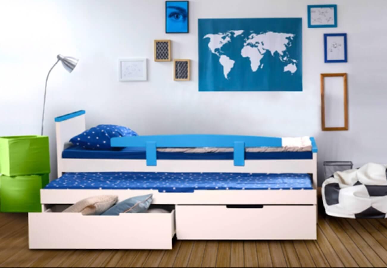 מיטת ילדים ספורט-בנים
