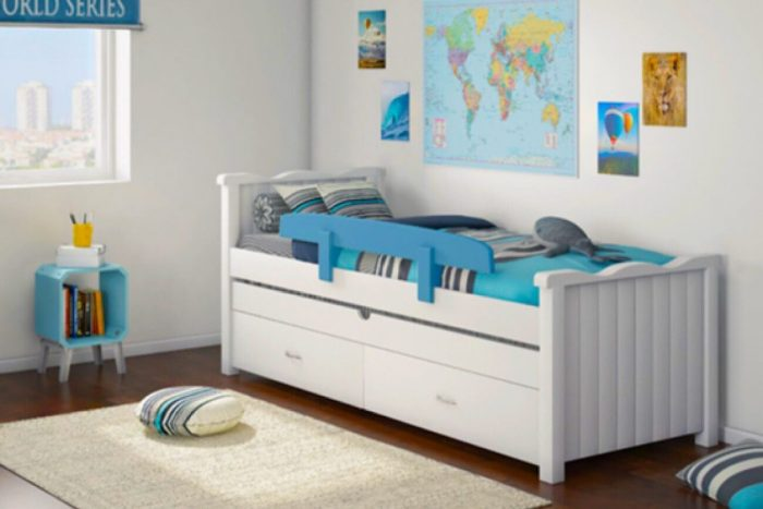 מיטת ילדים קורל