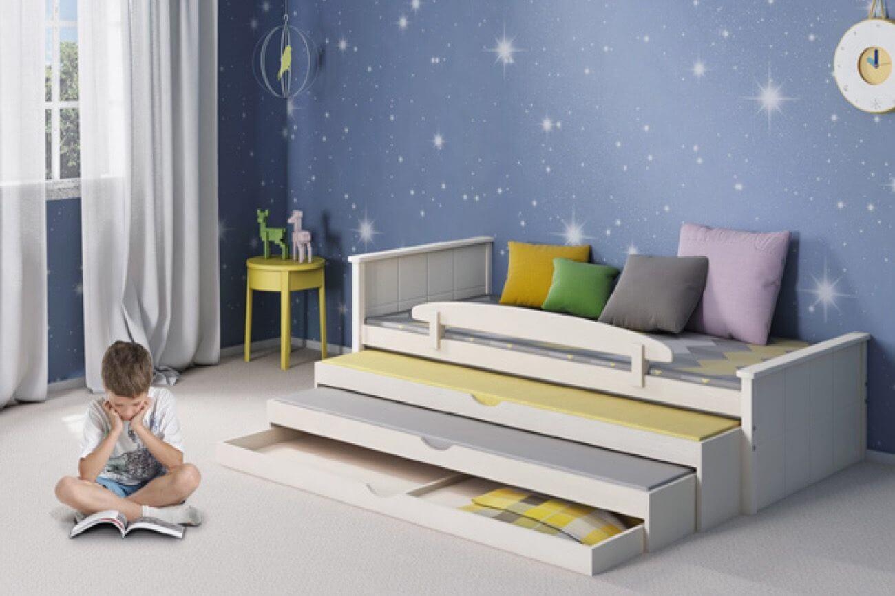 מיטת ילדים משולשת שביט