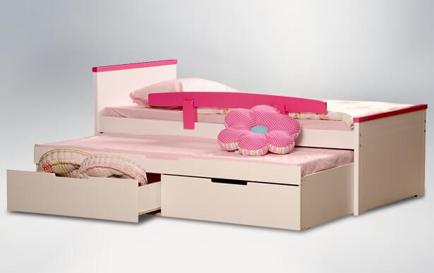 מיטת ילדים ספורט-בנות