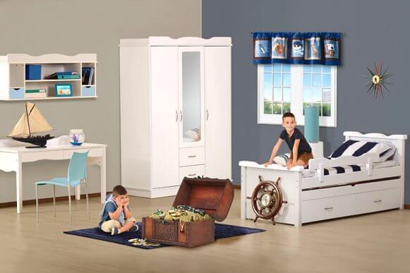 חדר ילדים דגם קורל vs