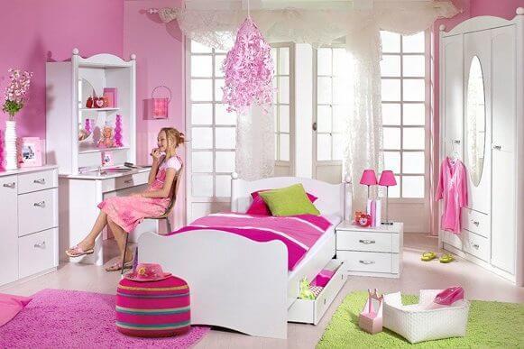 חדר ילדים בעיצוב נסיכה דגם לילי