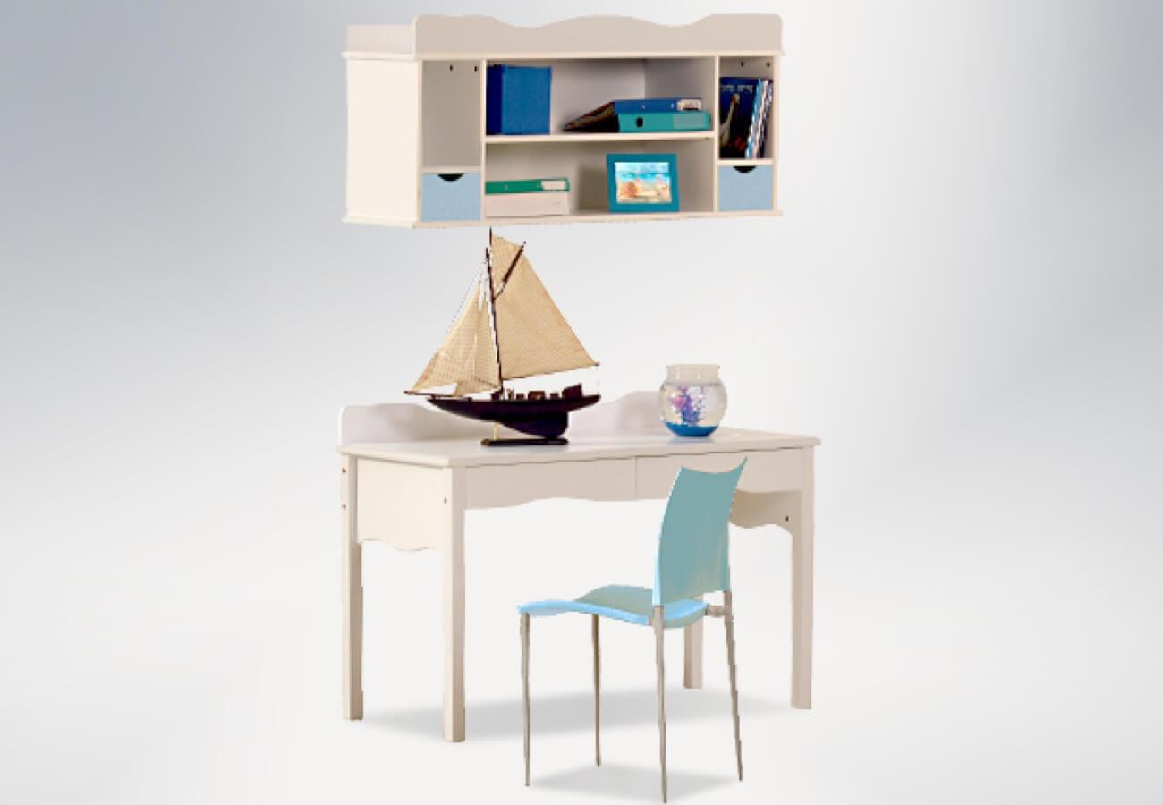 שולחן כתיבה + כוורת תלייה דגם קורל vs