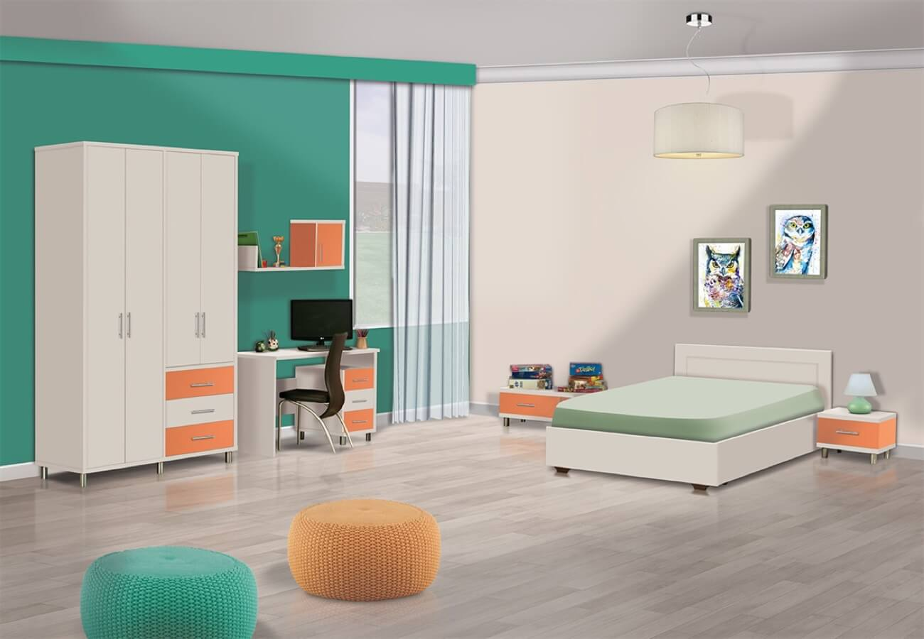 ירון| חדר ילדים מעוצב
