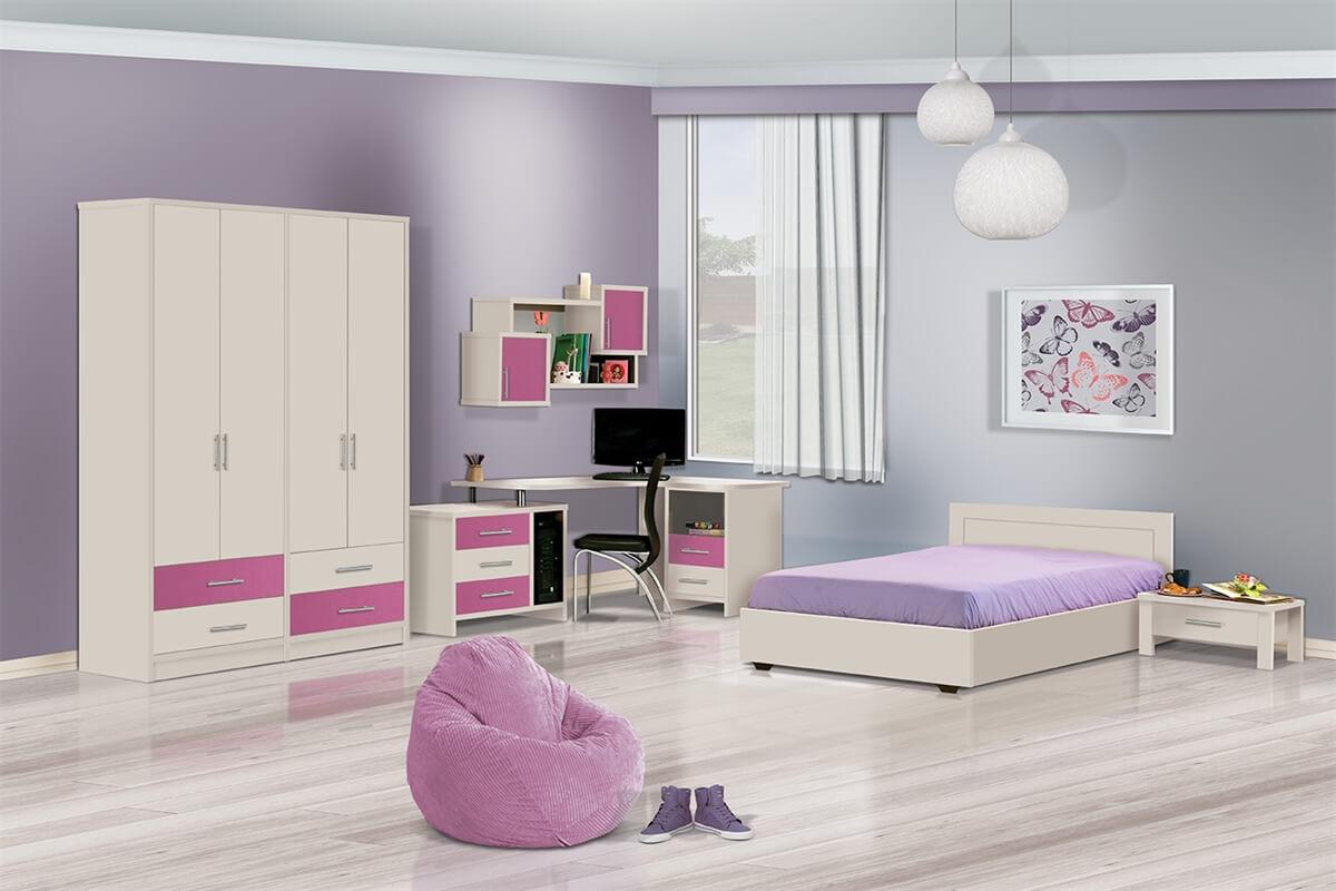 חדר ילדים מעוצב דגם ג'סיקה