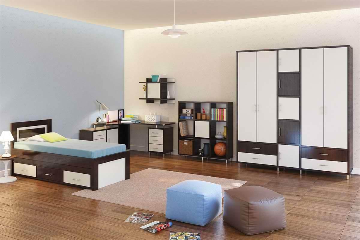 חדר ילדים מעוצב דגם רוי vn