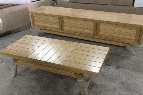 מזנון ושולחן לסלון דגם אנחל