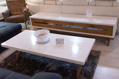מזנון מעוצב ושולחן לסלון דגם כלנית